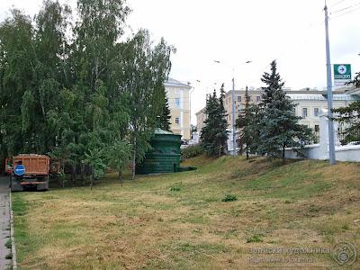 Казанский парк Черное озеро, газораспределительная подстанция