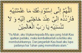 Doa Sebelum Belajar  Islam
