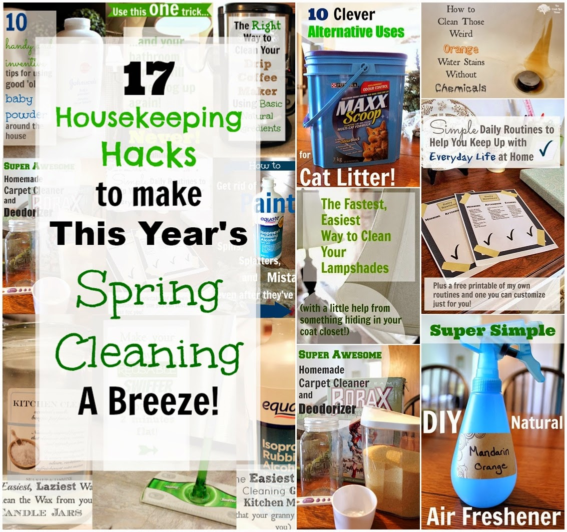 17 Housekeeping Hacks to Make This Year's Spring Cleaning a Breeze