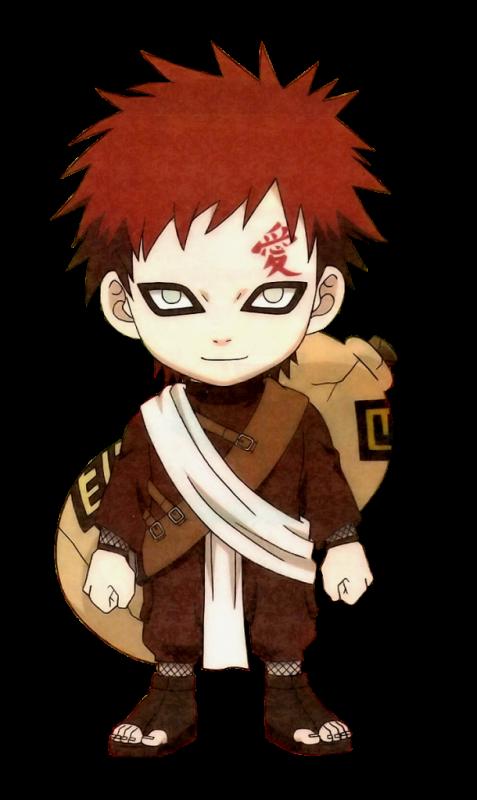 Naruto Png: Macam-Macam Gambar Naruto Png Gaara And Naruto Chibi