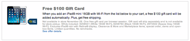 http://click.linksynergy.com/fs-bin/click?id=3hyMeAgQ6*I&subid=&offerid=306591.1&type=10&tmpid=13128&u1=SavingWithCandy&RD_PARM1=http%3A%2F%2Fwww.bestbuy.com%2Fsite%2Fpromo%2Fipad-mini-gift-card-offer-115700