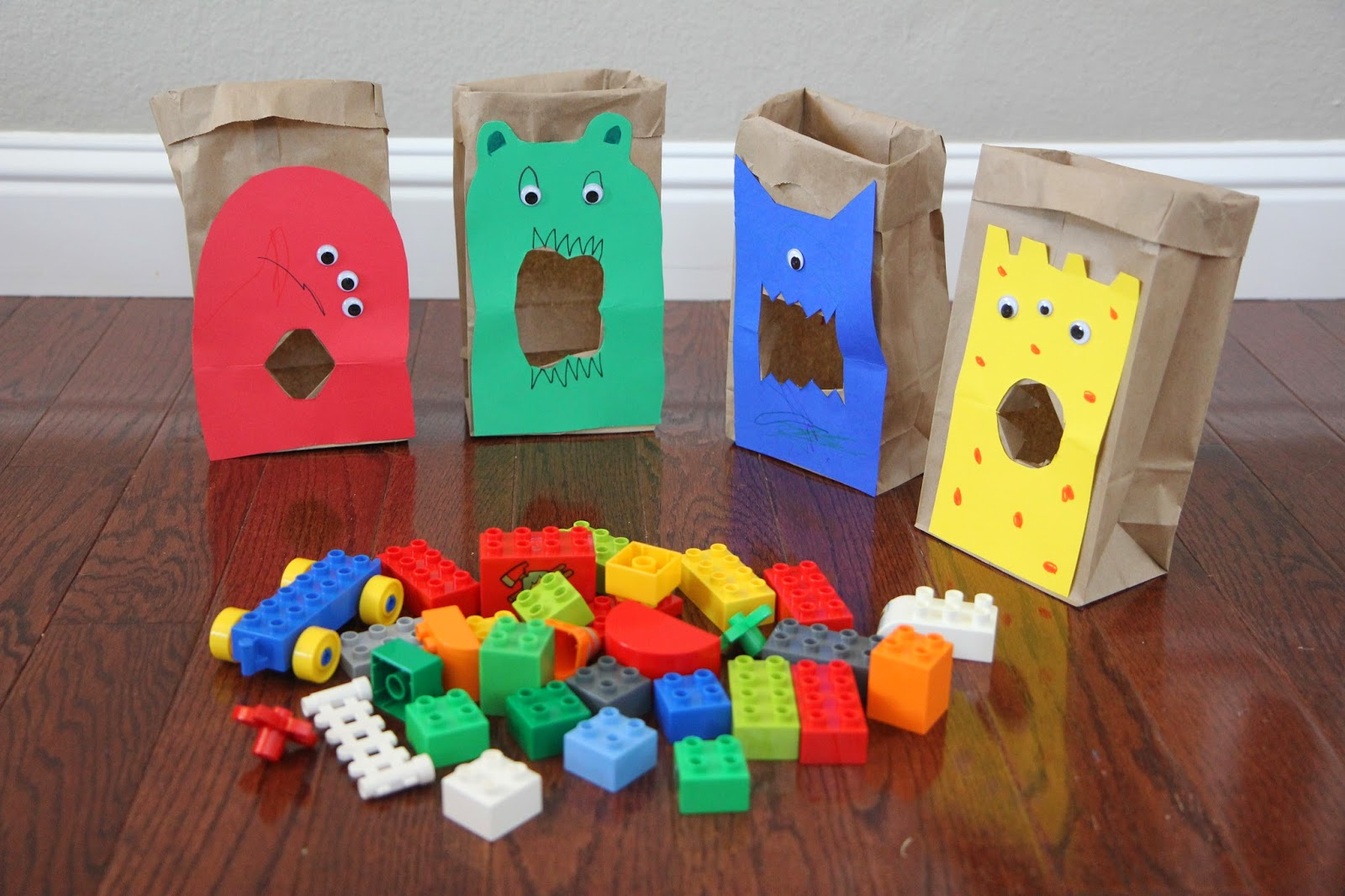 Feed the LEGO Monsters: A Sorting and Building Game for Kids ...