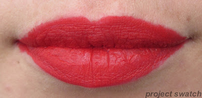 Wet n Wild Red My Mind lip swatch