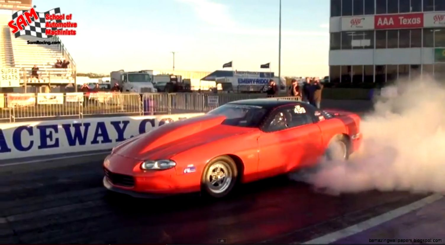 Video SAM All Motor 4th Gen Fastest NA LSX Camaro at 812   Dragzine