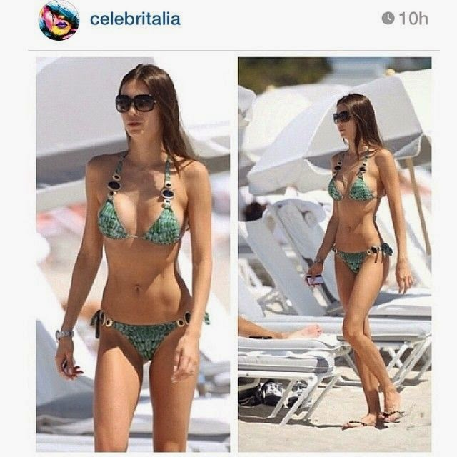 Julia Pereira shares a few images into her Instagram account on Wednesday, May 7, 2014 during her vacation in Miami