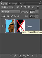 disable layer mask, belajar photoshop, photoshop cs6, pemula