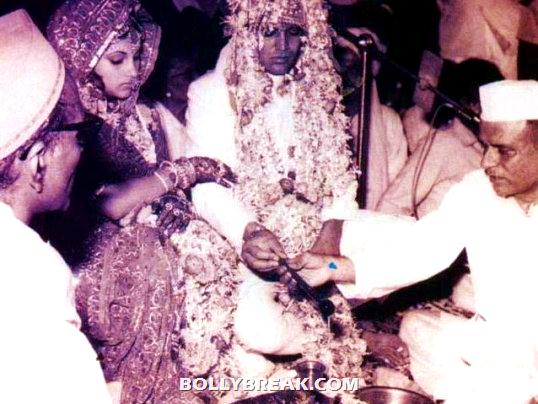 Rajesh khanna dimple kapadia marriage photo - (2) - Remembering Rajesh Khanna - First Bollywood Superstar