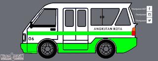Trayek dan Info Angkot 06 di Tasikmalaya | Kisatasik