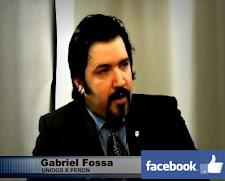 DIRECTOR DE UNIDOS X PERÓN  GABRIEL A. FOSSA