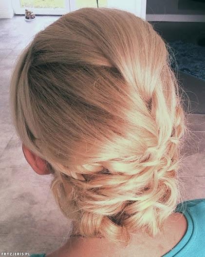 fryzura ślubna 67
