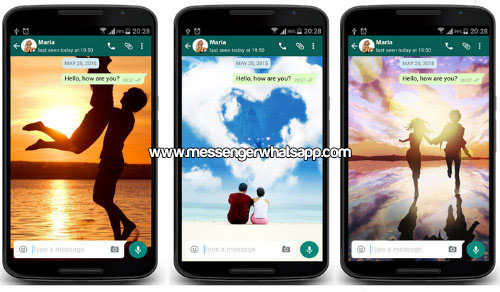 Fondos para enamorados con Love Whatsapp Wallpaper