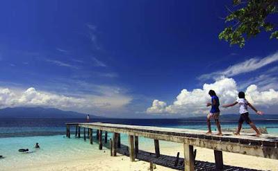 Liang Beach in Ambon