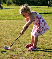 kid golfer