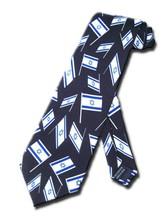 Corbata seda banderas 142x9 ctms.