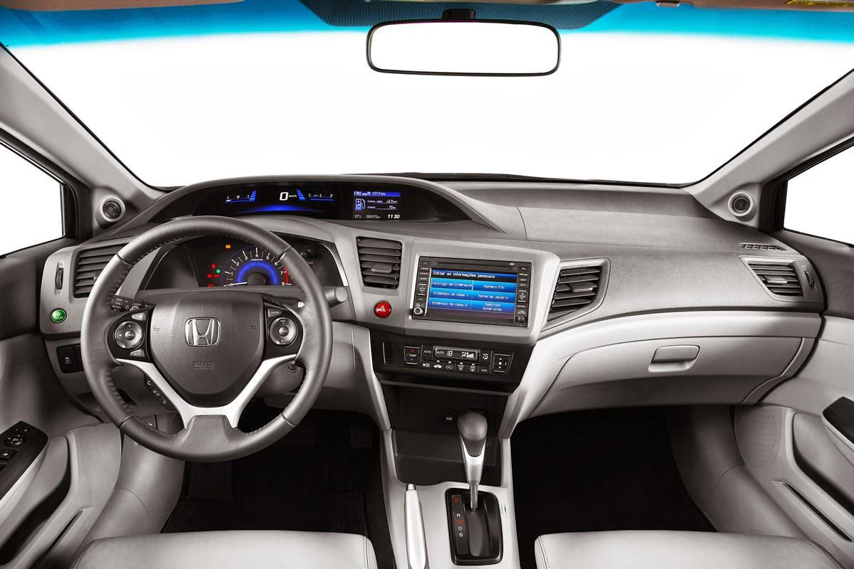 Carros Ten  10   O Novo Carro Honda Civic 2014 J U00e1  U00e9 Um