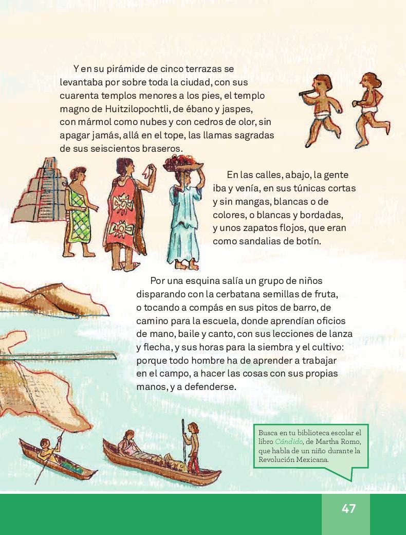 Las ruinas indias - Español Lecturas 3ro 2014-2015