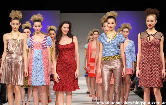 Benedit Bis primavera verano 2013. Moda Argentina Blog.