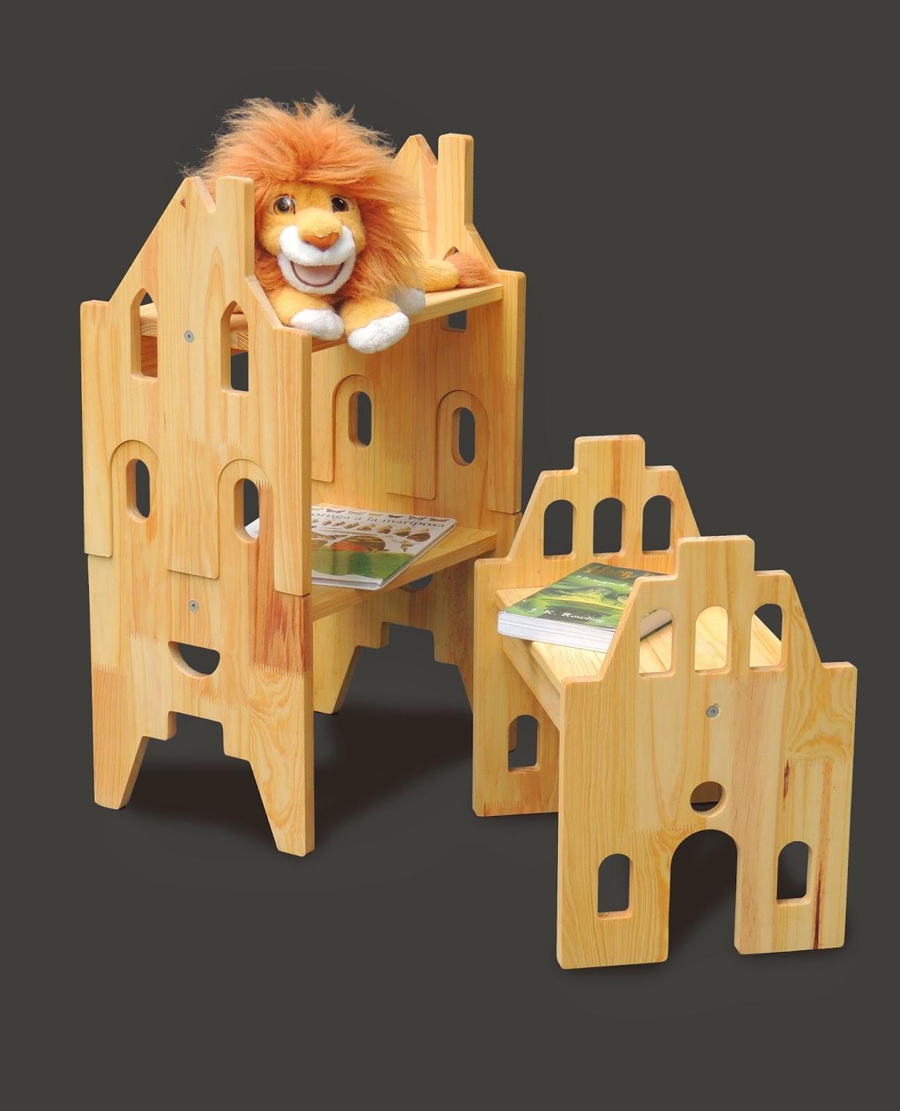 Muebles infantiles multifuncionales jorge monta a for Muebles infantiles diseno
