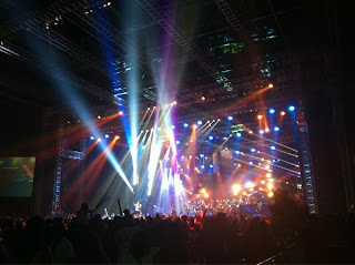 Foto Konser Noah Tadi Malam Di Ancol