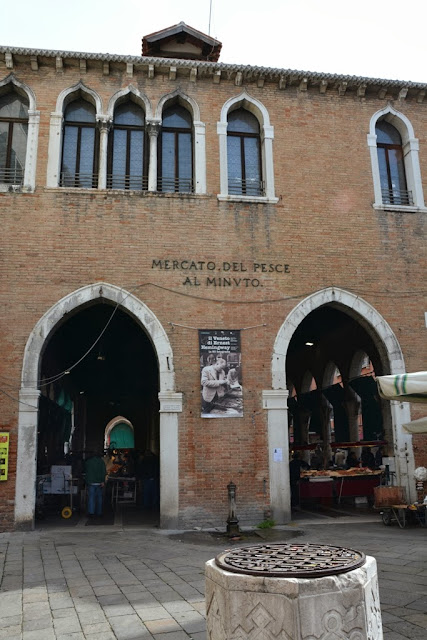 Rialto Fish Market Venice