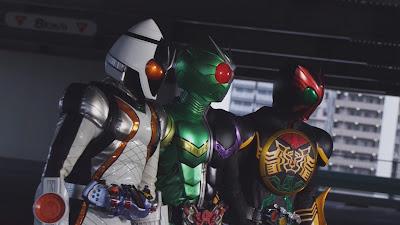 Kamen Rider × Kamen Rider Fourze & OOO: Movie Wars MEGAMAX