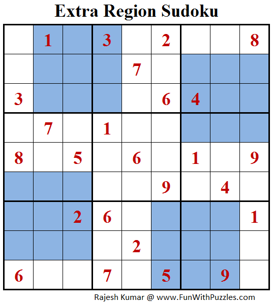 Extra Region Sudoku (Daily Sudoku League #149)