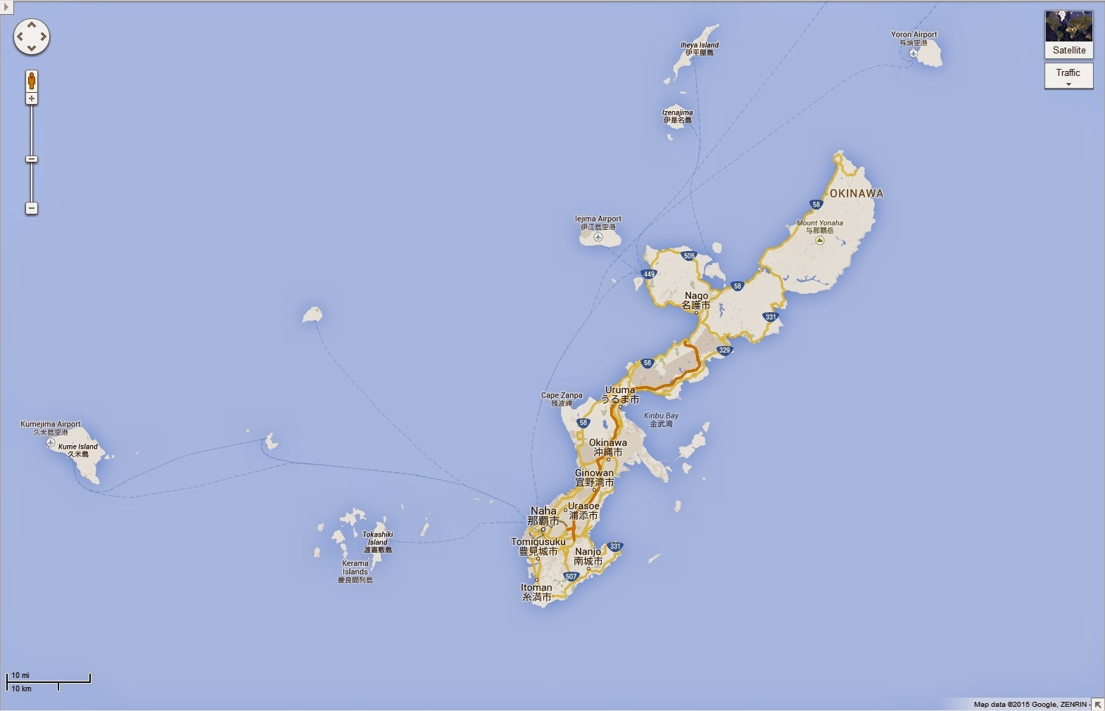 Okinawa Still Occupied Years After WWII - Us military bases in okinawa map