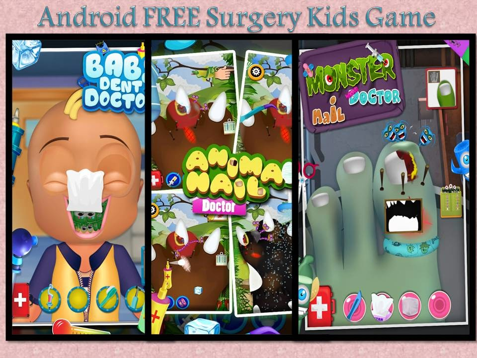 android free surgery kids game