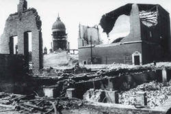 Scene from San Francisco earthquake