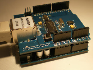 Ethernet shield ENC28J60 Arduino