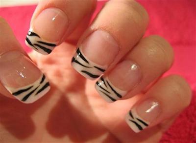 French Nail Art Designs