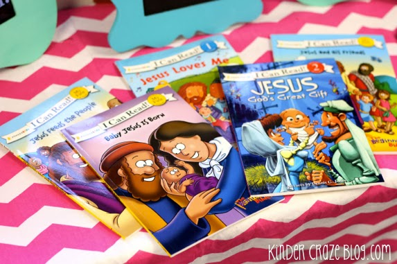 """I Can Read"" books about Jesus"