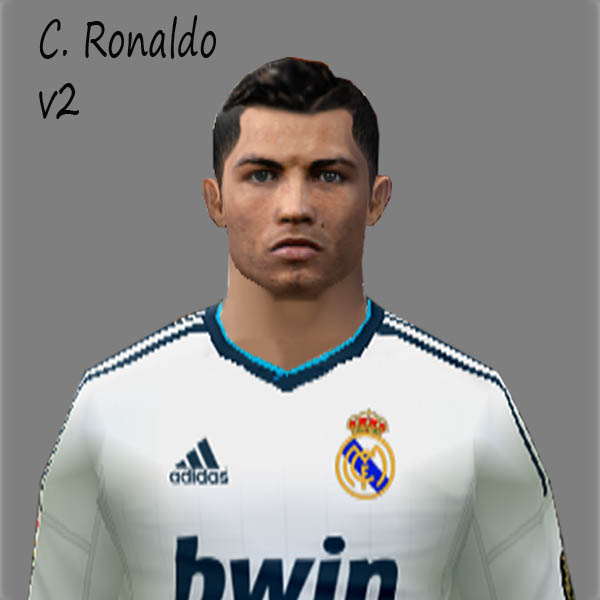 Face C. Ronaldo Update 2012 - PES 6 Edit