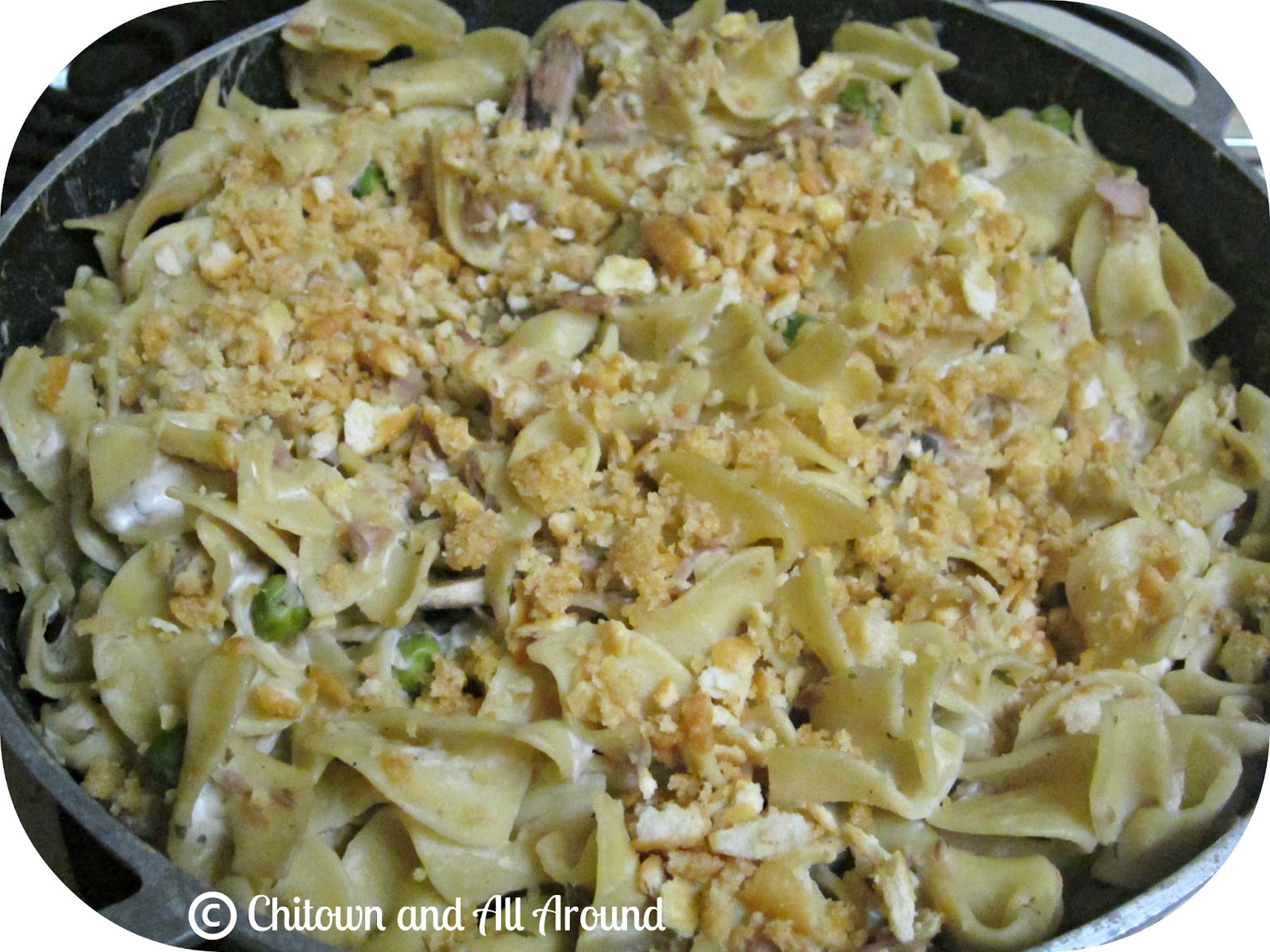 Chitown and all around recipe creamy tuna noodle casserole Tuna and philadelphia pasta