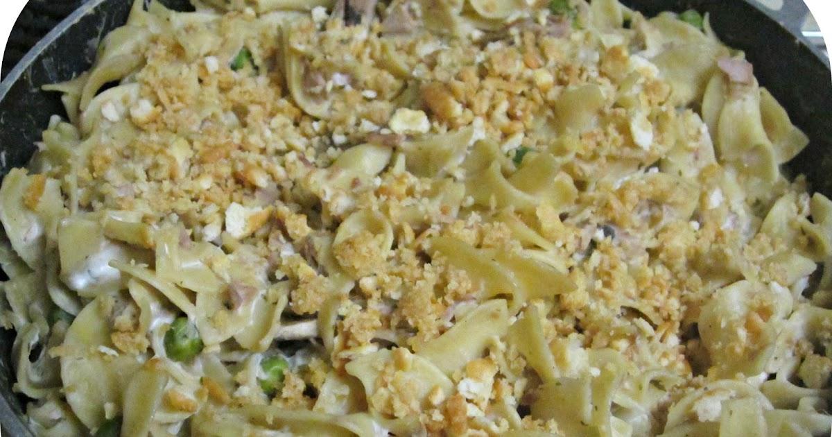 Chitown And All Around: Recipe: Creamy Tuna Noodle Casserole