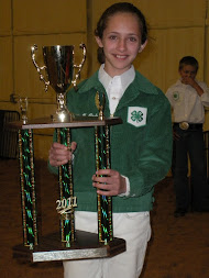 Overall 4-H Exhibitor (2011)
