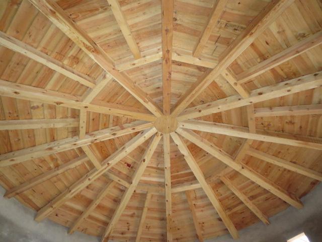 El talon sierte construcci n en segovia estructura de - Estructura tejado madera ...