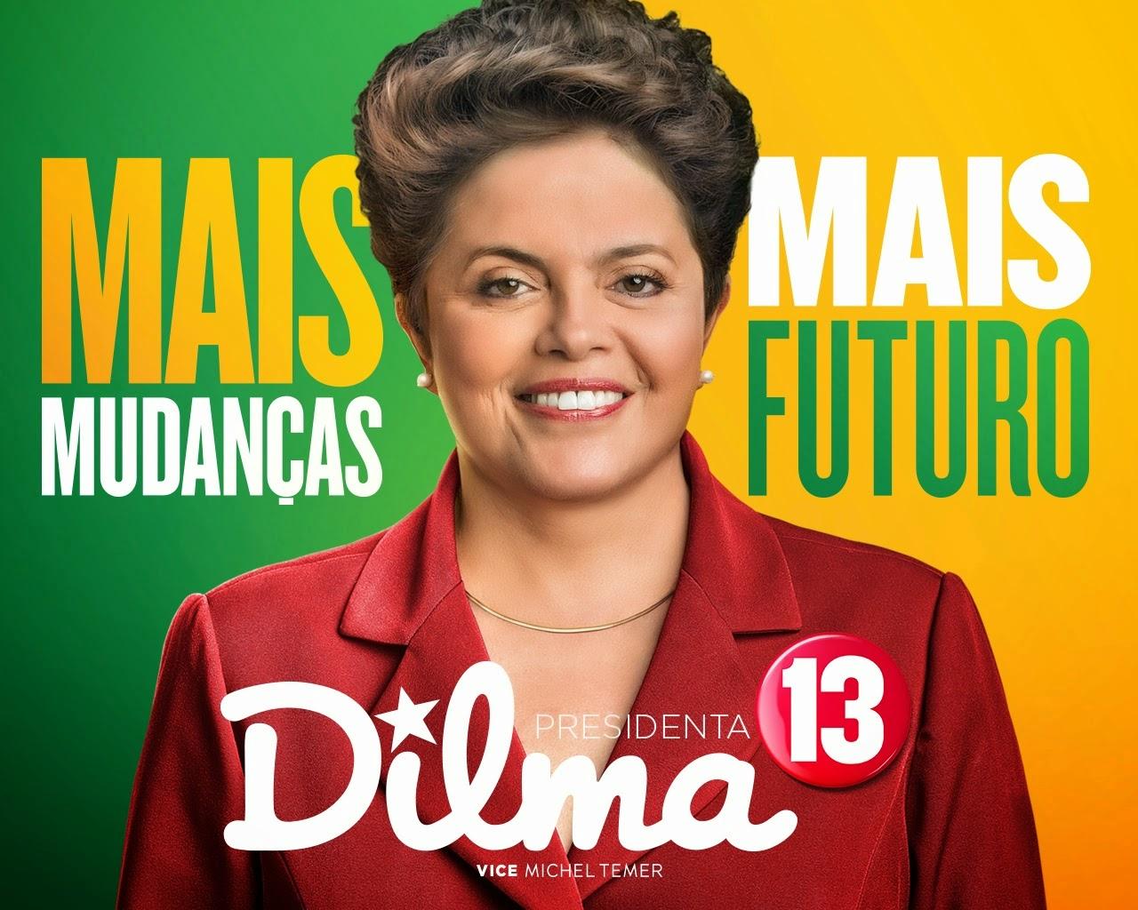 Dilma 13 - Eleições 2014.