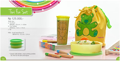 Tupperware Tiwi Fun Set