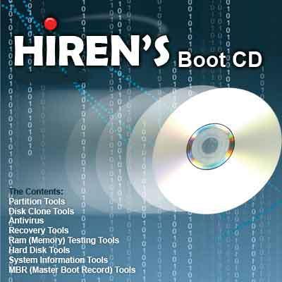 hiren boot cd تحميل
