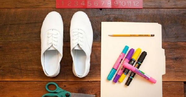 Como renovar tus viejas zapatillas construccion y - Hazlo tu mismo manualidades ...