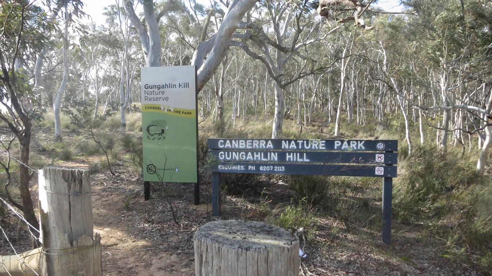 Black Mountain Reserve Car Park Canberra
