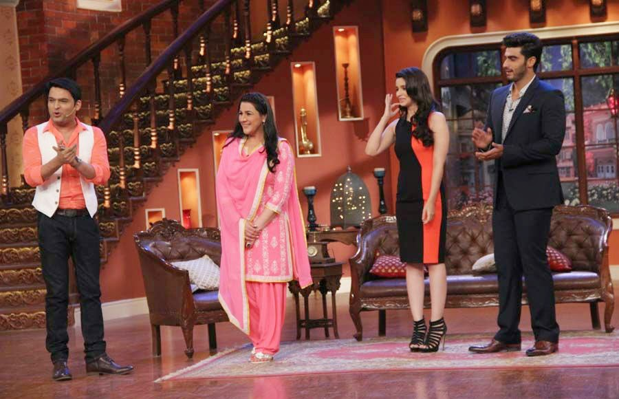2 States Promotion On Comedy Nights With Kapil