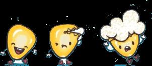 3 Pipocas