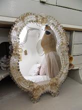 Gammal Venetiansk spegel