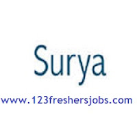 Surya Software Freshers Jobs 2015