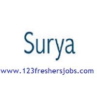 Surya Software Freshers Jobs 2015