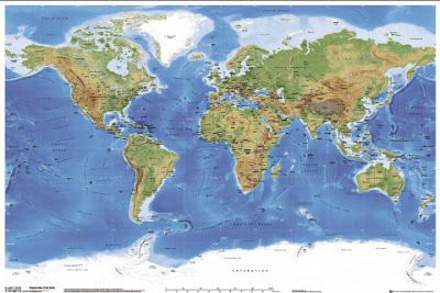 World physical and Geological Maps