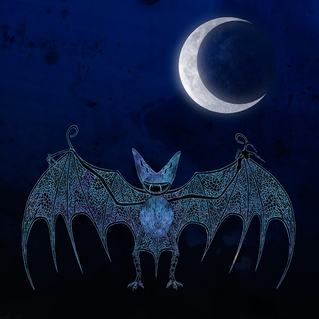 murciélago y luna de Valencia