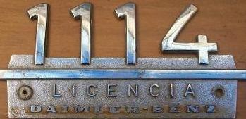 Ficha tecnica Mercedes Benz 1114